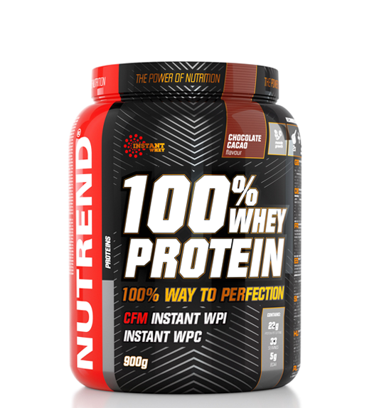 100% WHEY PROTEIN 900 g
