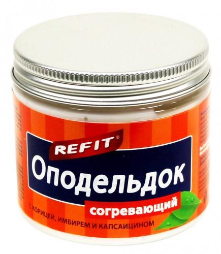 Мазь Оподельдок согревающая  200 мл /  Refit