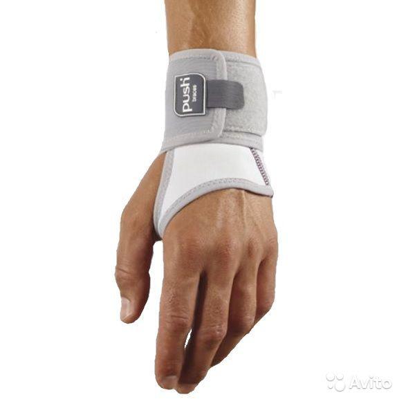 Код 1.10.1 Ортез на лучезапястный сустав Push care Wrist Brace (правый/левый)