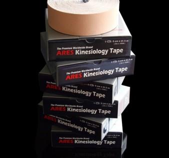 ARES Standart кинезио тейп 5 см х 31.5 м (9 цветов)
