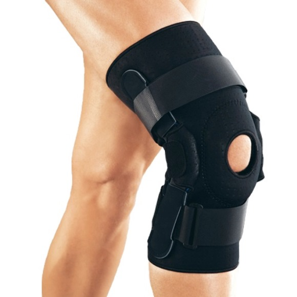 Код RKN–367 Ортез на коленный сустав с полицинтрическими анатомичискими шарнирами, S,M,L,XL, ХХL