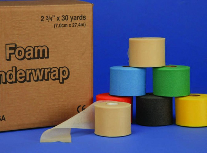 50-27530/50-GREEN/50-BLUE Подкладочный материал беж.  7.0см x 27м, 48 рулонов