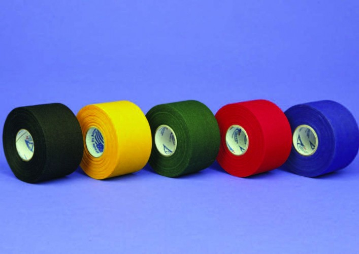 20-1515GR/OR/RD/BL Базовый тейп Trainers зеленый/оранжевый/красный/синий 3.8см x 13.7м,  32 рулона
