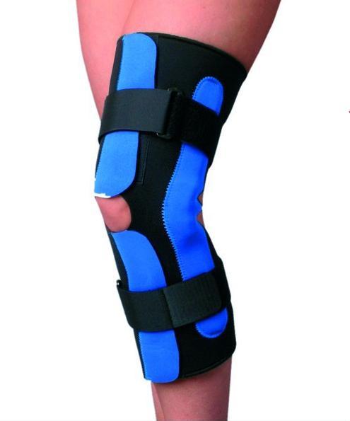 Код F1295 Фиксатор коленного сустава неопреновый с надпателлярным протектором, S-XXL