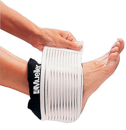 Код 330112 Эластичная повязка с пакетом для холодо/термотерапии, подходит для любых частей тела, 1 шт.