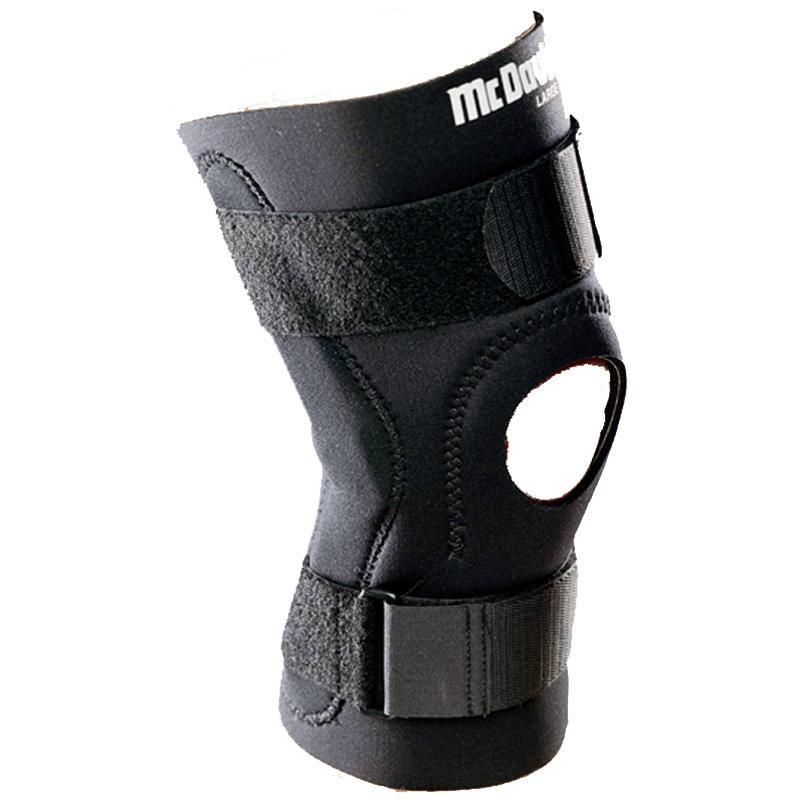Код 426R Бандаж колена шарнирный, черный, S,M,L,XL