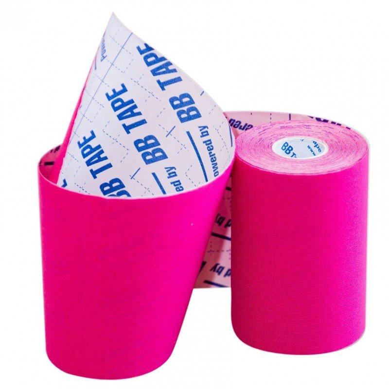 Кинезио тейп BBTape 10см × 5м / Розовый