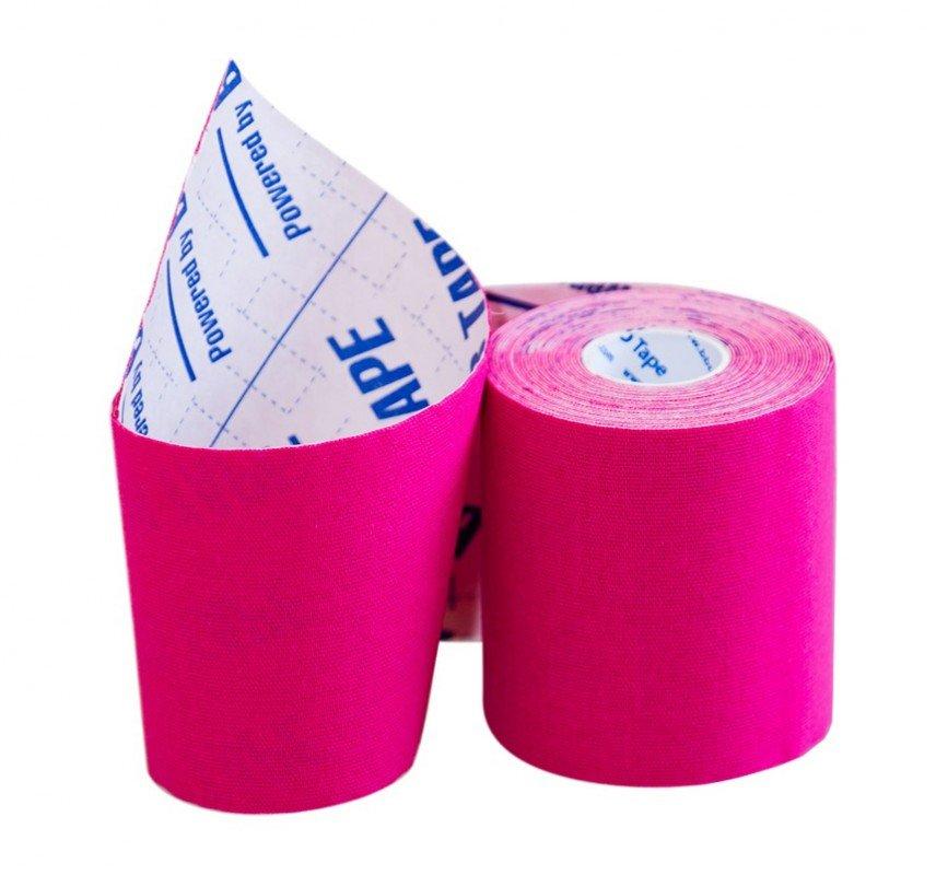 Кинезио тейп BBTape™ 7,5см × 5м / Розовый