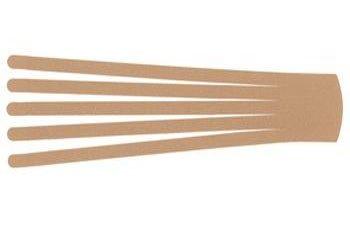 Кинезио тейп преднарезанный BB EDEMA STRIP 7,5 cм x 25 см / Бежевый