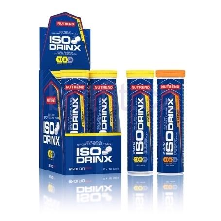ISODRINX (шипучие таблетки 12 шт) Изотоник