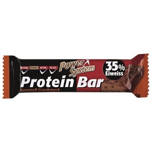 Батончик Power System 45 г Protein Bar 35%