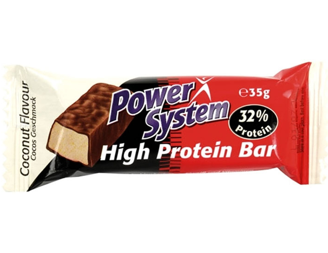 Батончик Power System 35 г High Protein Bar 32%