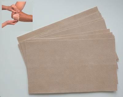 Код 010901 Липкая защитная сетка от волдырей и мозолей, 1 уп. из 15 полотен (25,0см х 15,0 см)