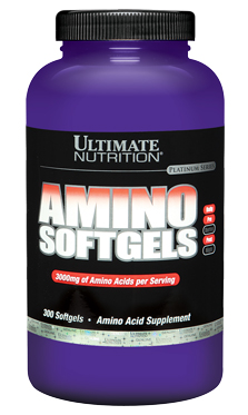 Ultimate Amino Softgels 300 гелевых капсул