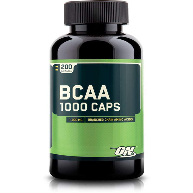 Optimum BCAA 200 капсул