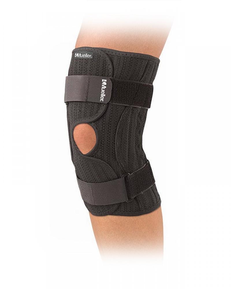 Код 231 Бандаж-обертывание на колено, регулируемый, 1 шт., черный, REG, LG