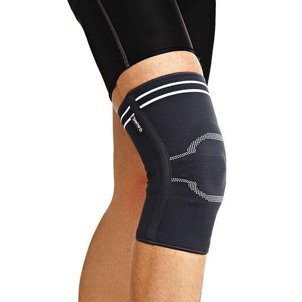 Код DKN-203 Ортез на коленный сустав GenuFlex с гел. подуш.-кольцом и 2 спирал. ребр. Жесткости, S,M,L,XL, ХХL