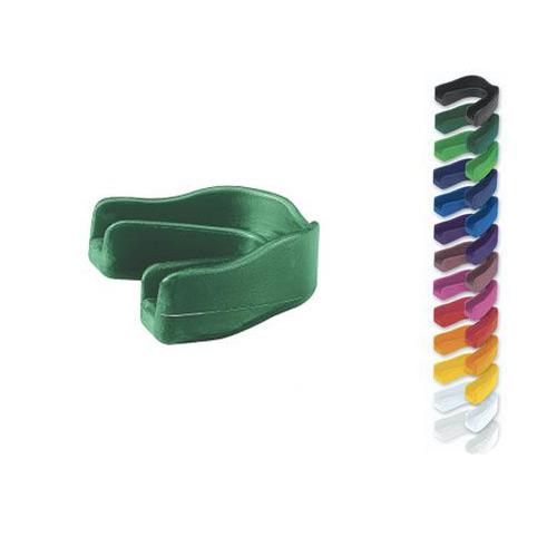 Код 131025 Защитная капа для зубов без ремешка, 1 шт., красная
