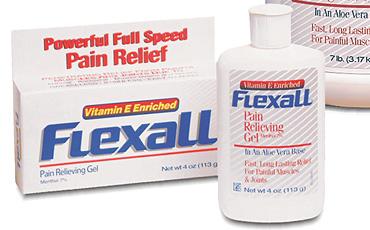Flexall - 7% ментола  / обезболивающий гель