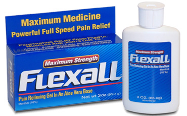 Maximum Strength Flexall - 16% ментола / обезболивающий гель