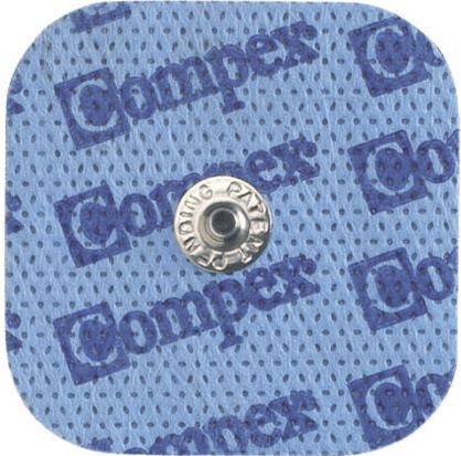 Код 6260761 Электроды с кнопкой, размер 5см х 5см. В упаковке 10 пакетов по 4 электрода в каждом