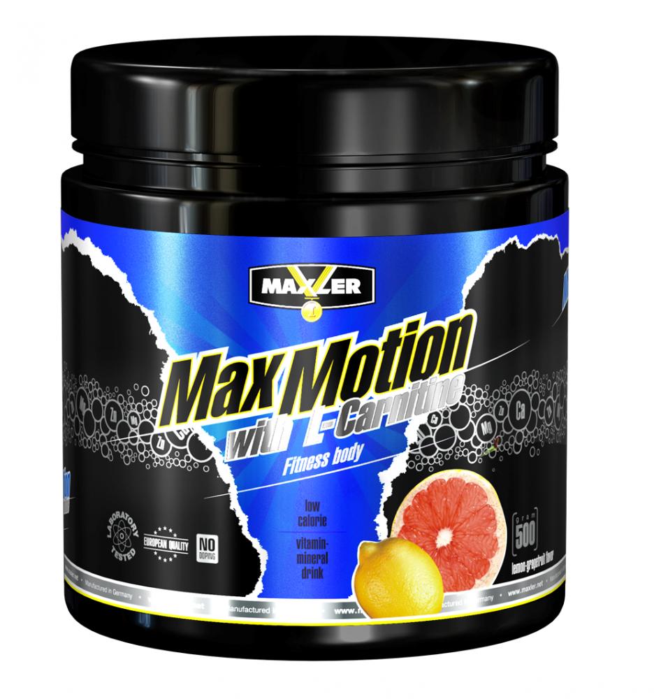 Maxler Max Motion+L-carnitine 500 г (банка)