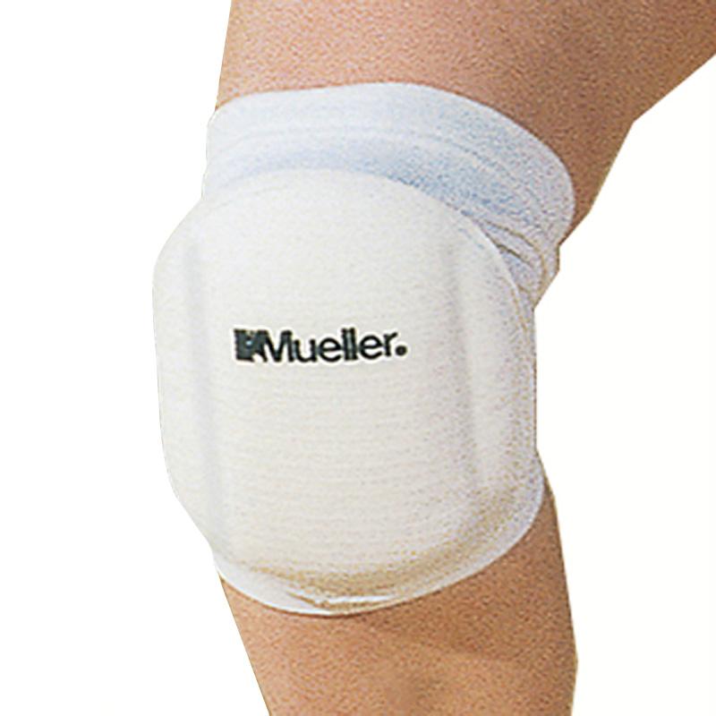 Код 4534 Подушечки на колено для игры в волейбол, безразмерные, одна пара, белые