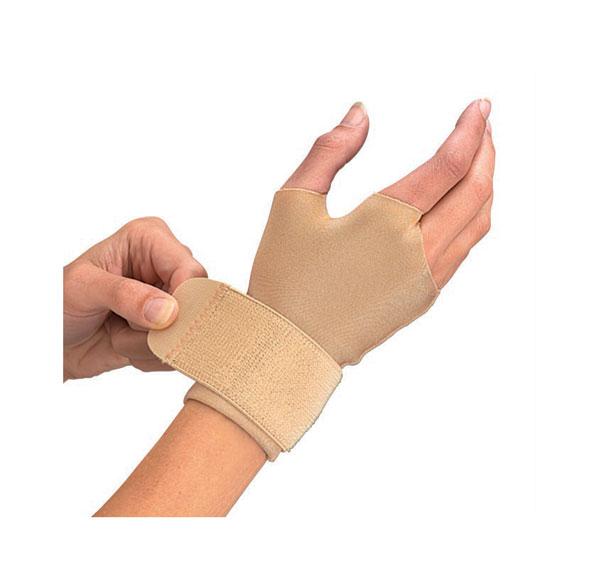 Код 465 Компрессионные перчатки, одна пара, бежевые, SM,MD,LG